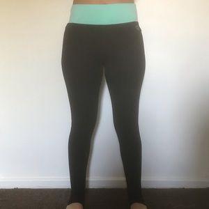 ae4fcc4e2f Women's Black And Blue Aeropostale Yoga Pants on Poshmark